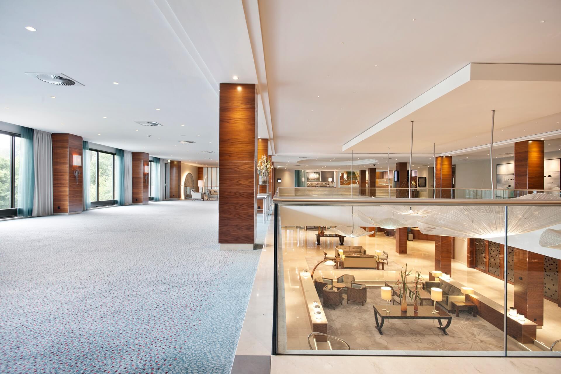 Amstel foyer at Hotel Okura Amsterdam