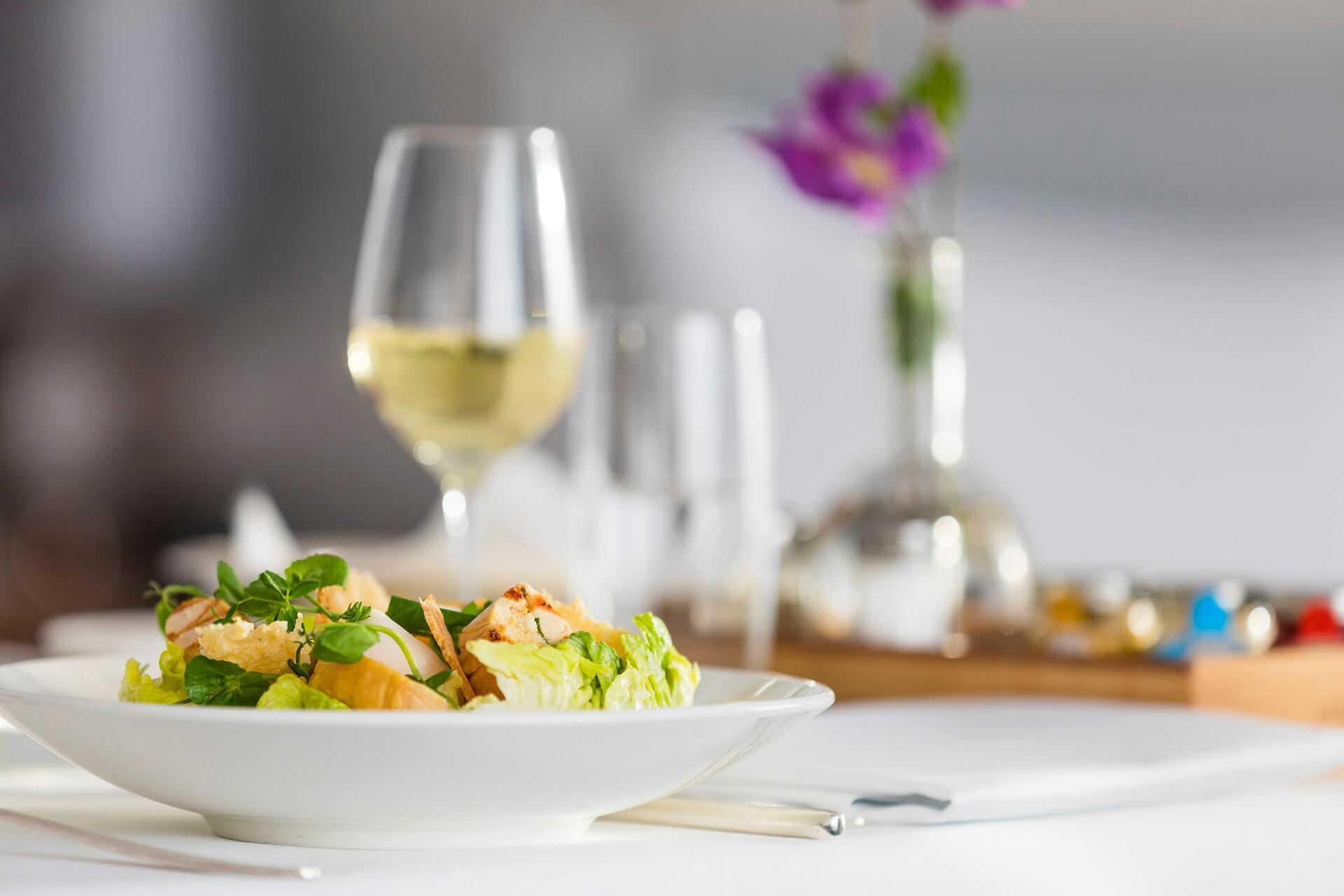 Room service - Caesar salad