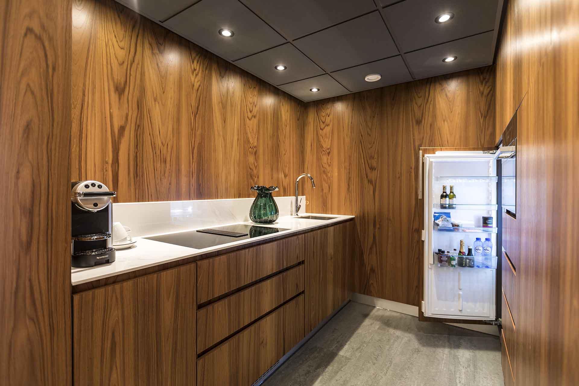 Kitchen The Okura Apartment