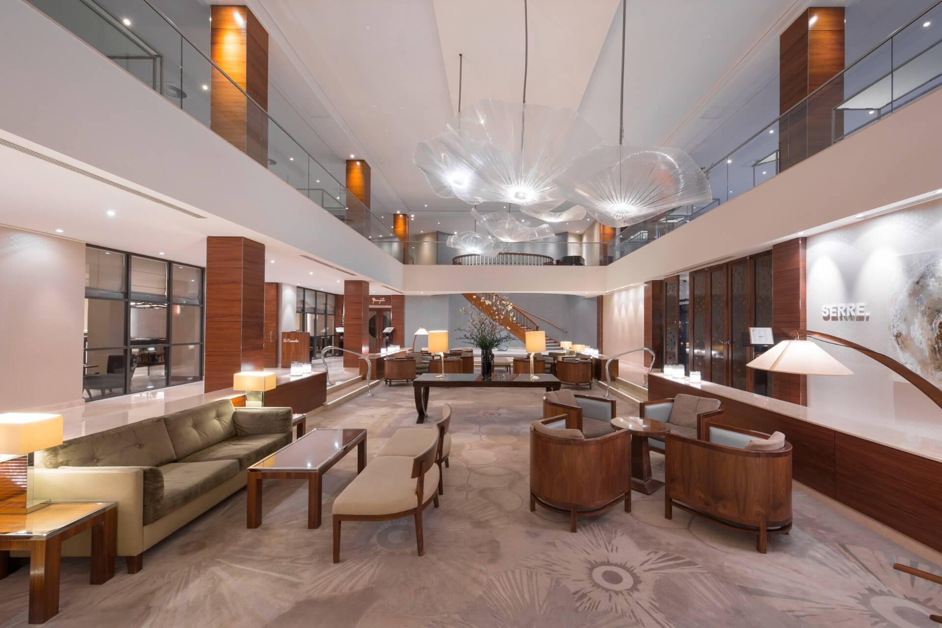 Lobby at Hotel Okura Amsterdam