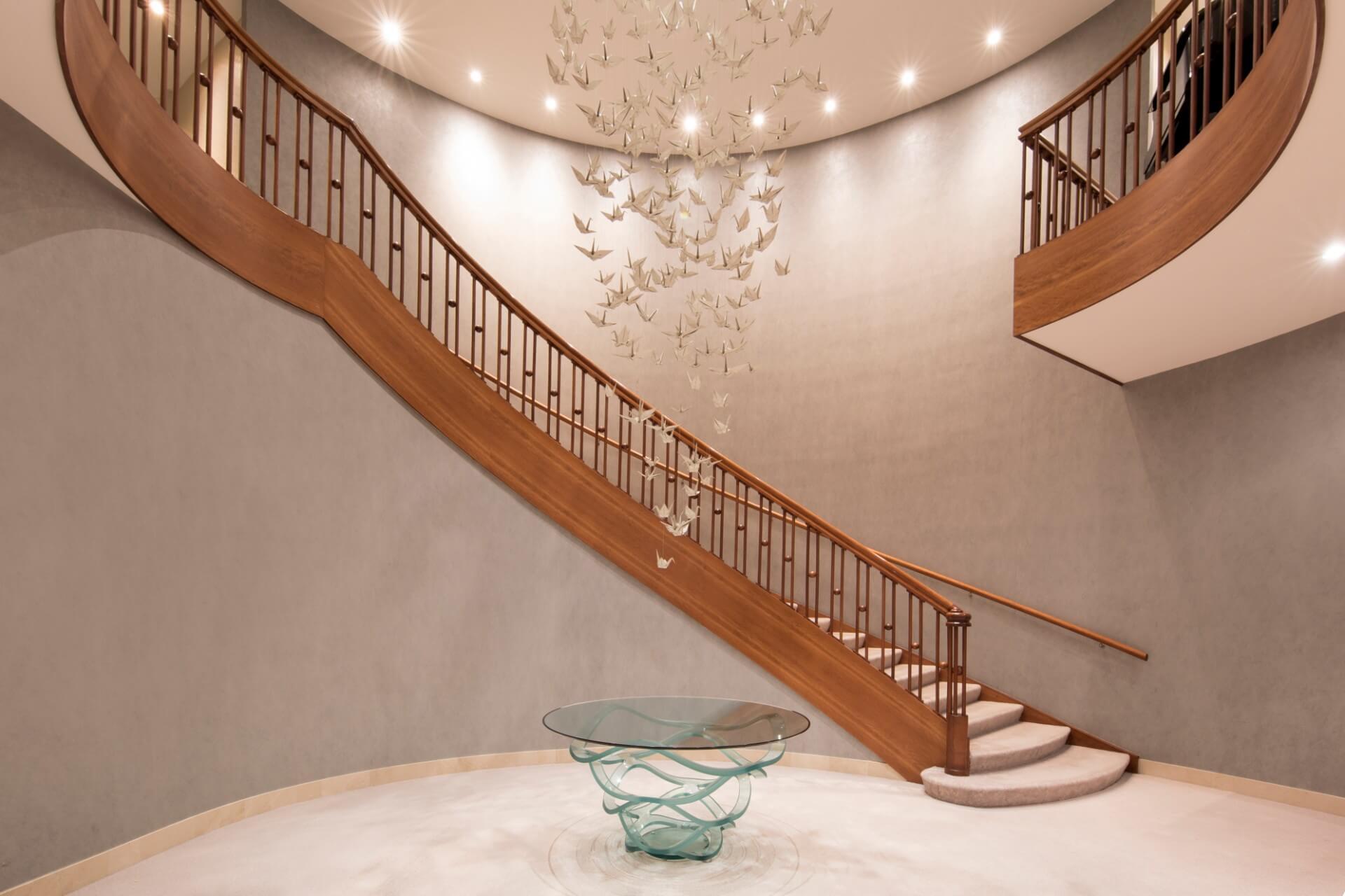Stairs Lobby of Hotel Okura Amsterdam