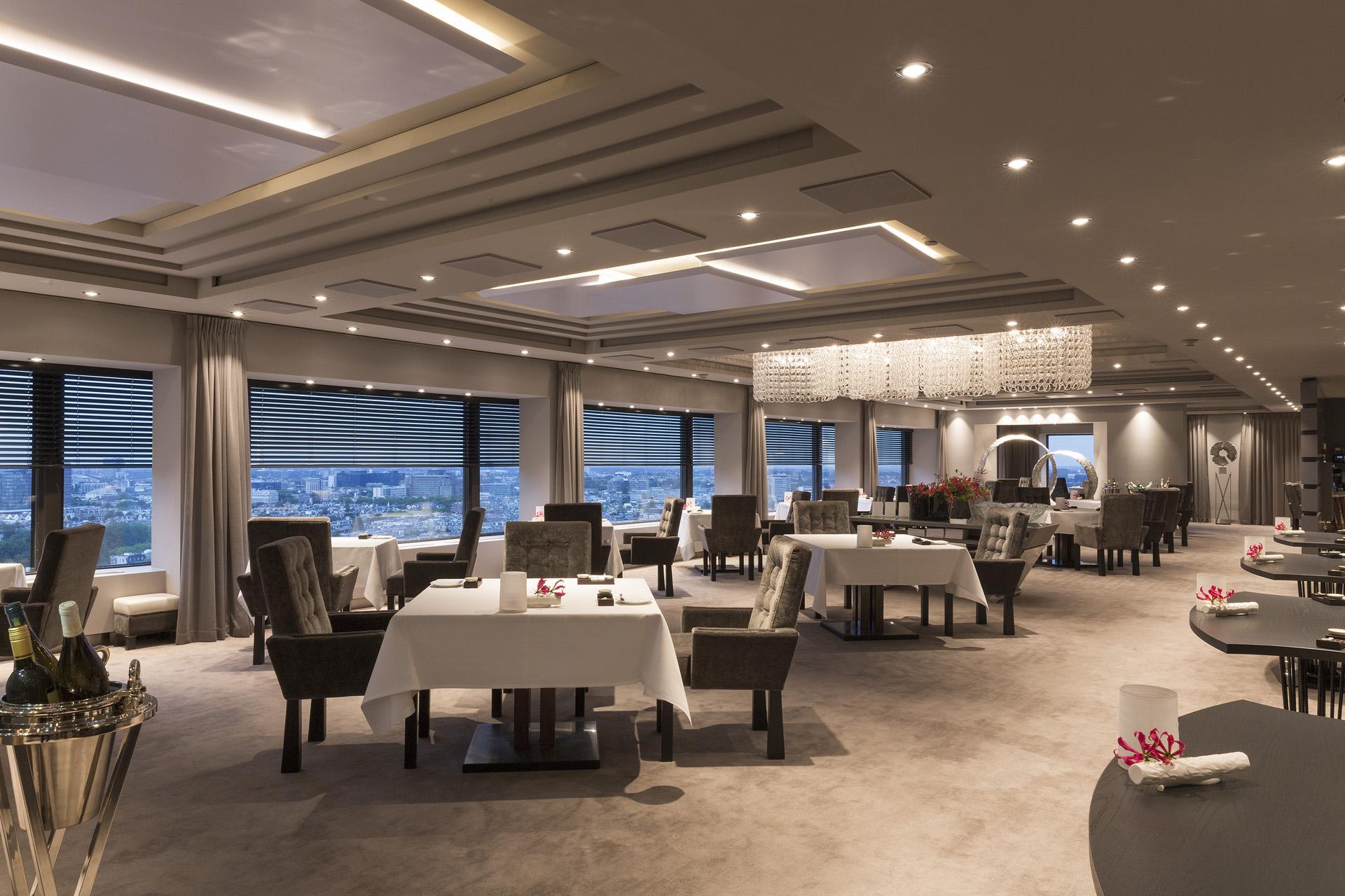 Ciel Bleu Restaurant overview