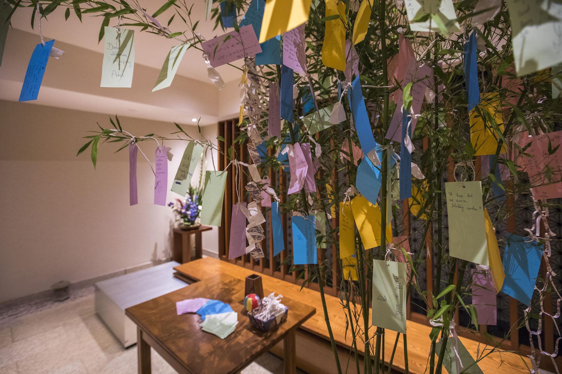 Tanabata bamboo brunches