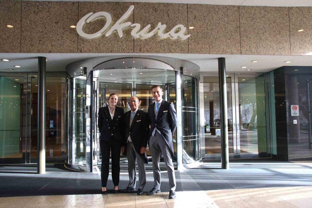 Meet the concierge team of Hotel Okura Amsterdam