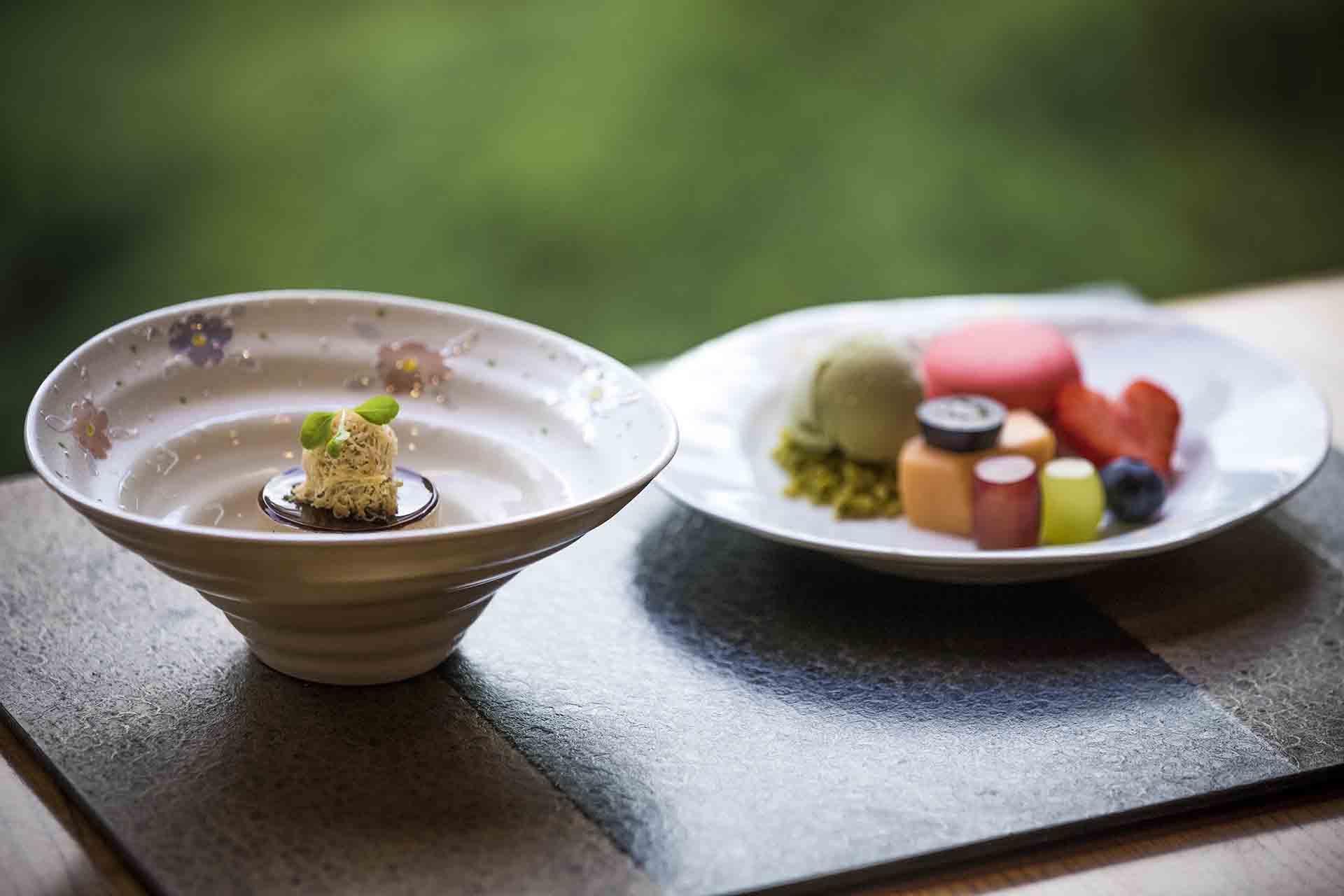 Japanese Dessert Yamazato Restaurant