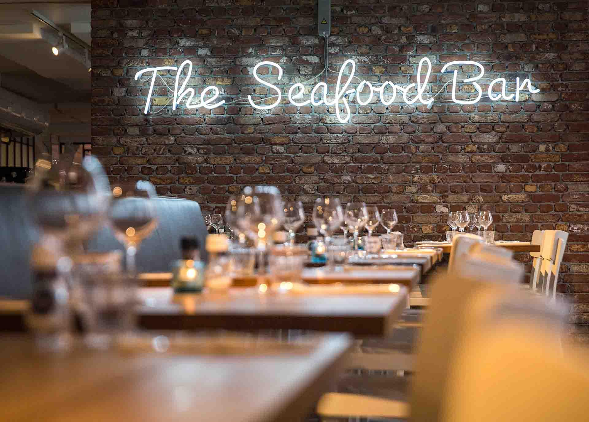 Seafood bar Amsterdam