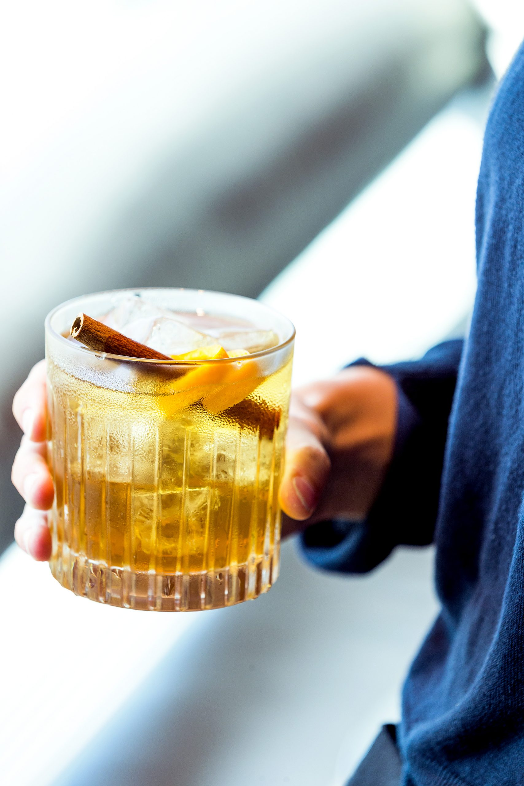 Okura old fashioned cocktail