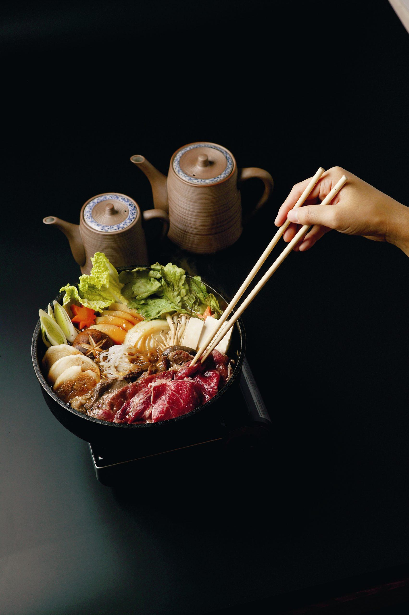 Yamazato's sukiyaki