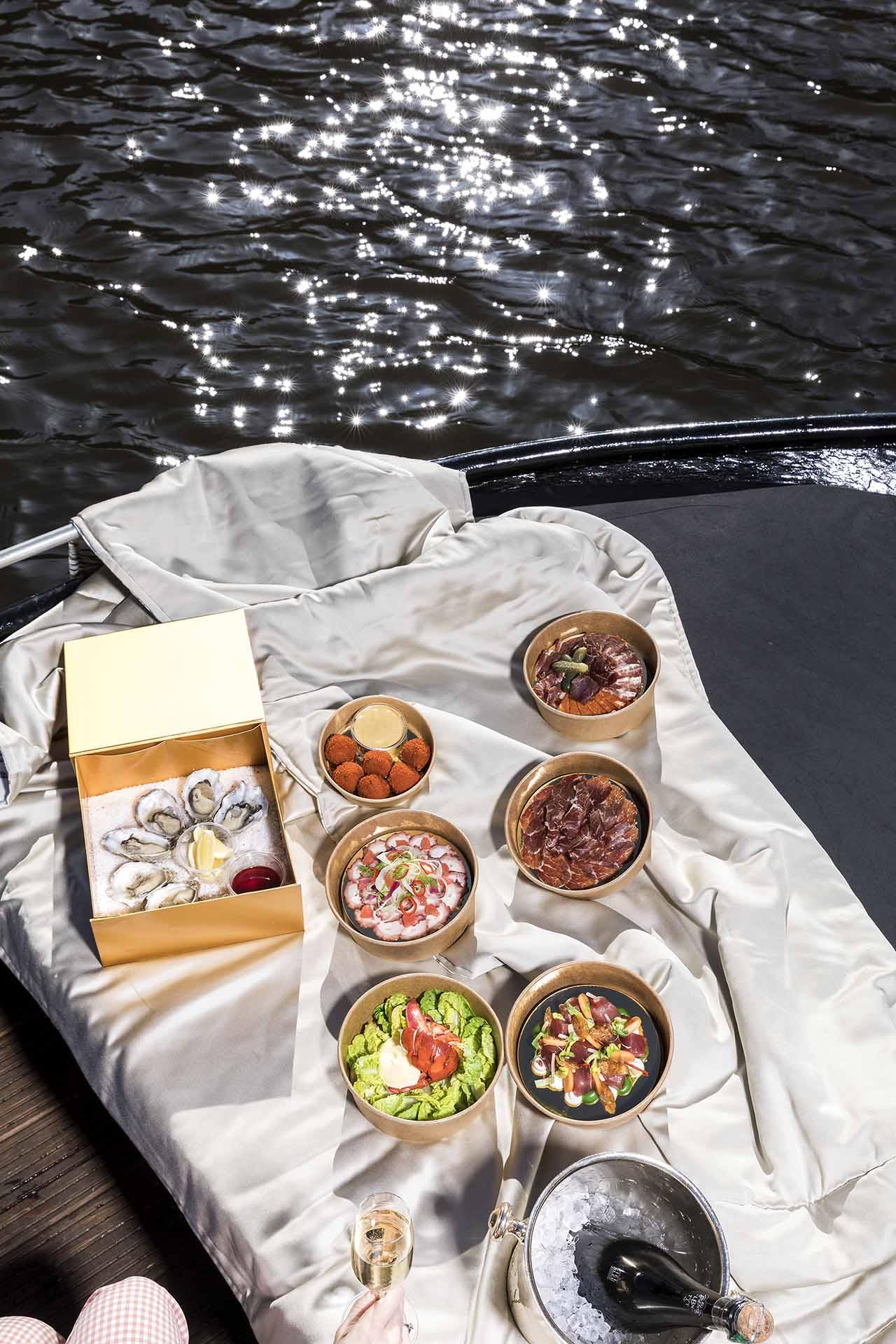 Sail away menu