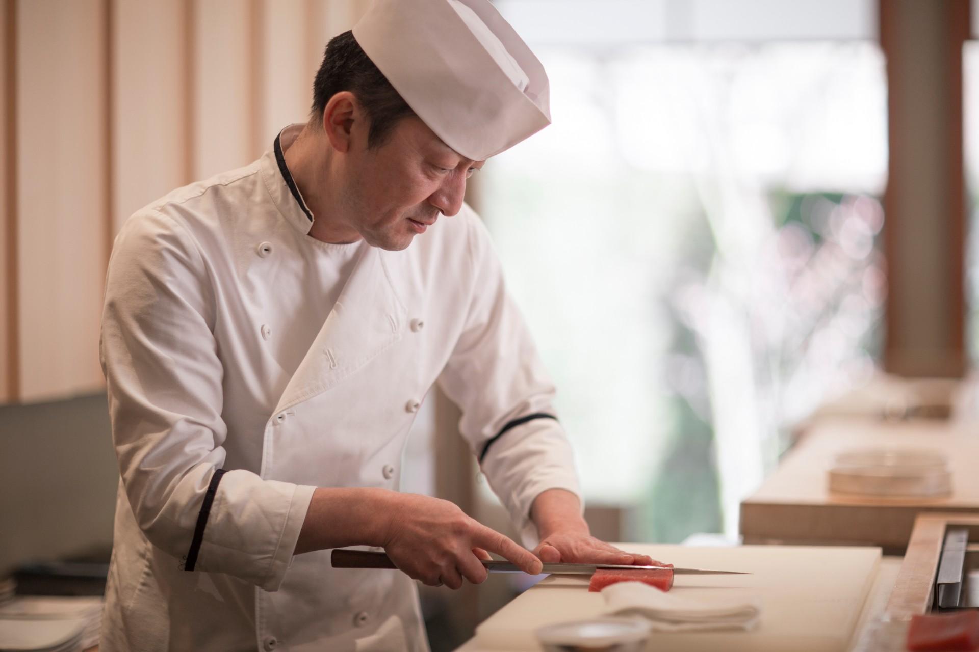 Chef Masanori Tomikawa