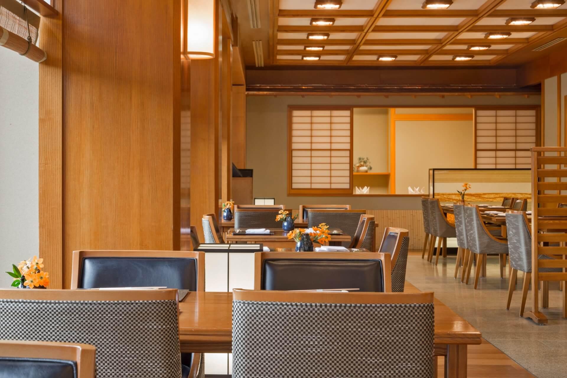 Interior of Yamazato Restaurant