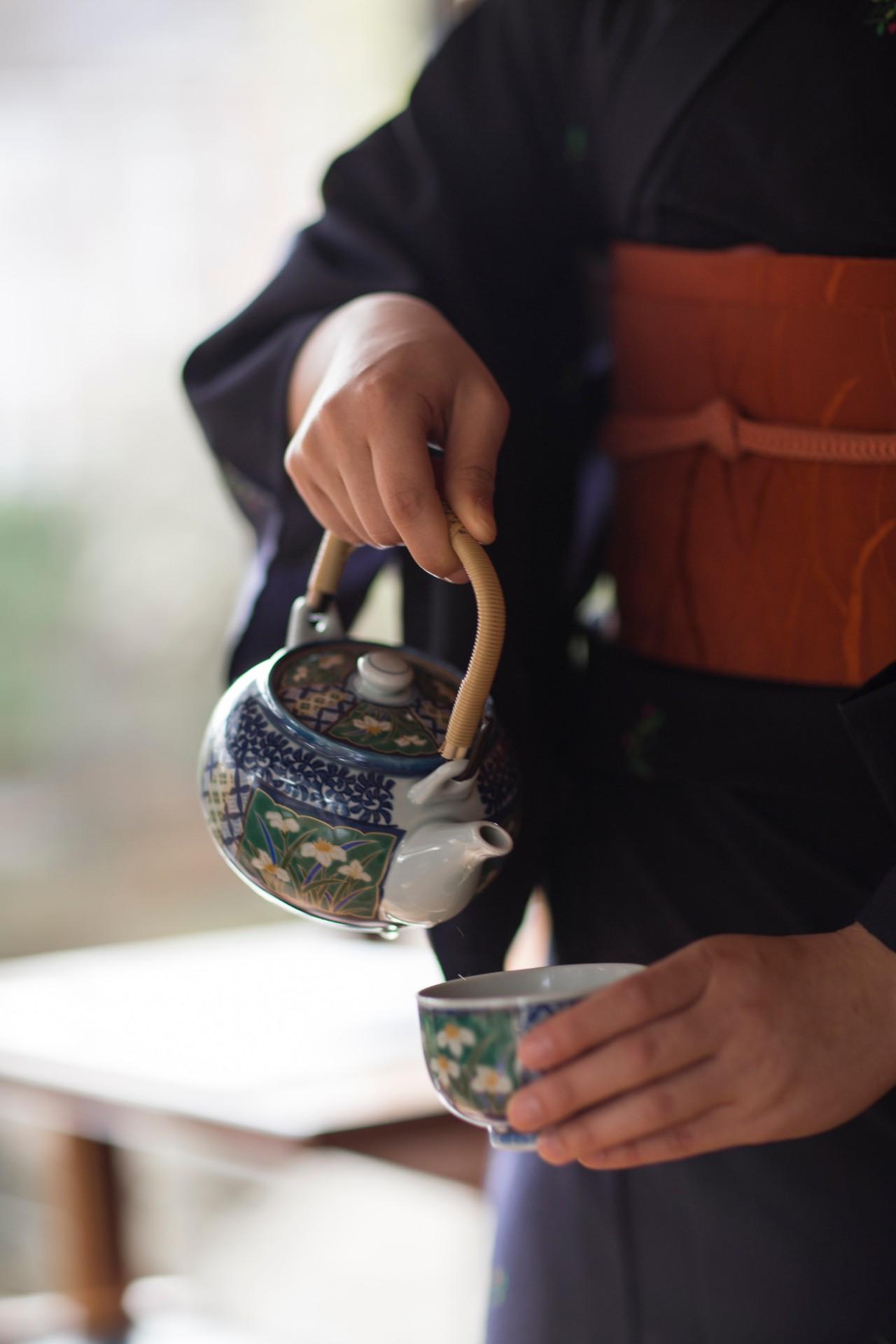 Tea at Yamazato Restaurant