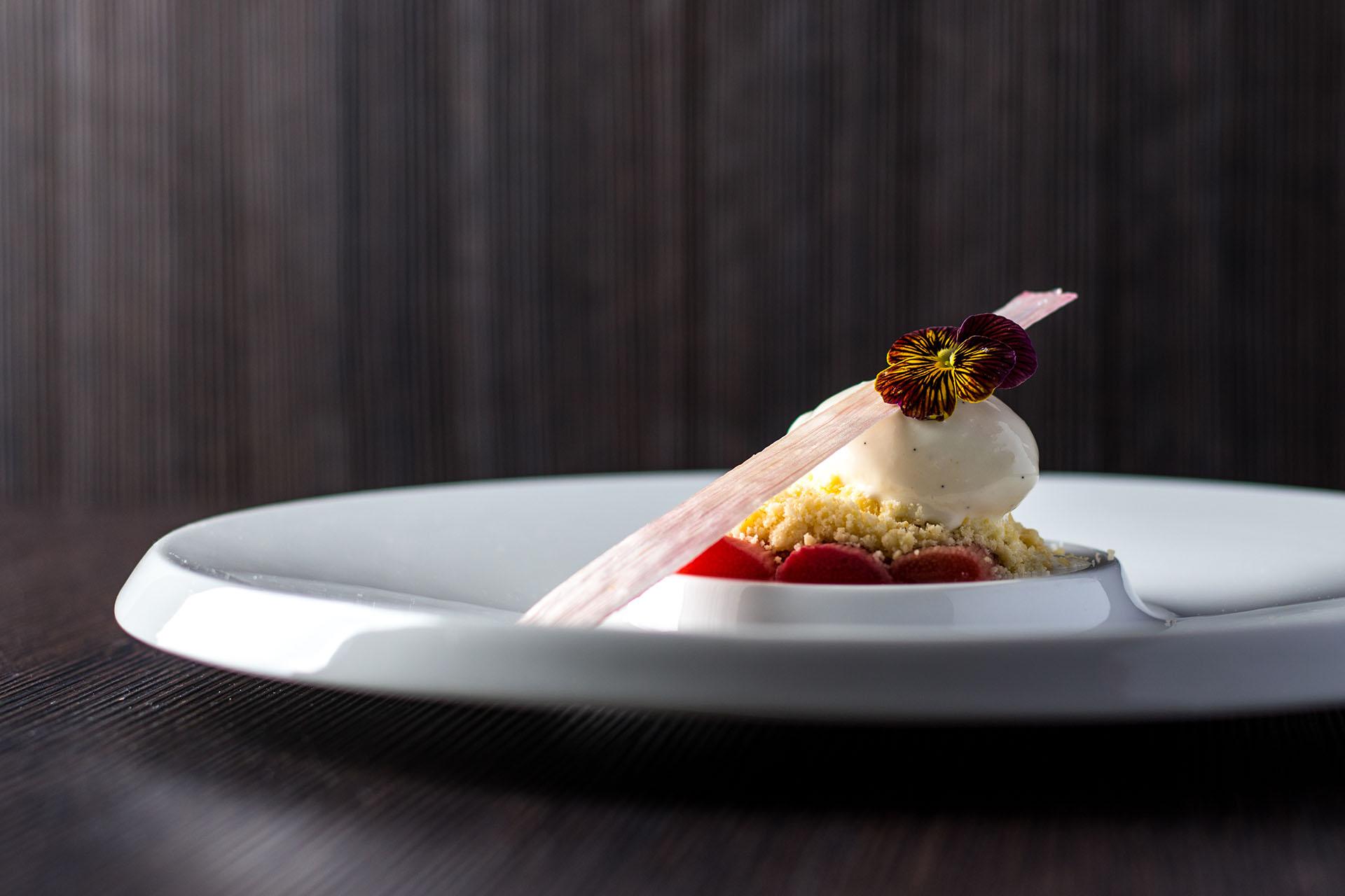 Dessert dish Taste of Okura