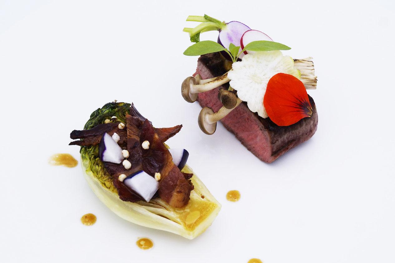 Meat dish Taste of Okura