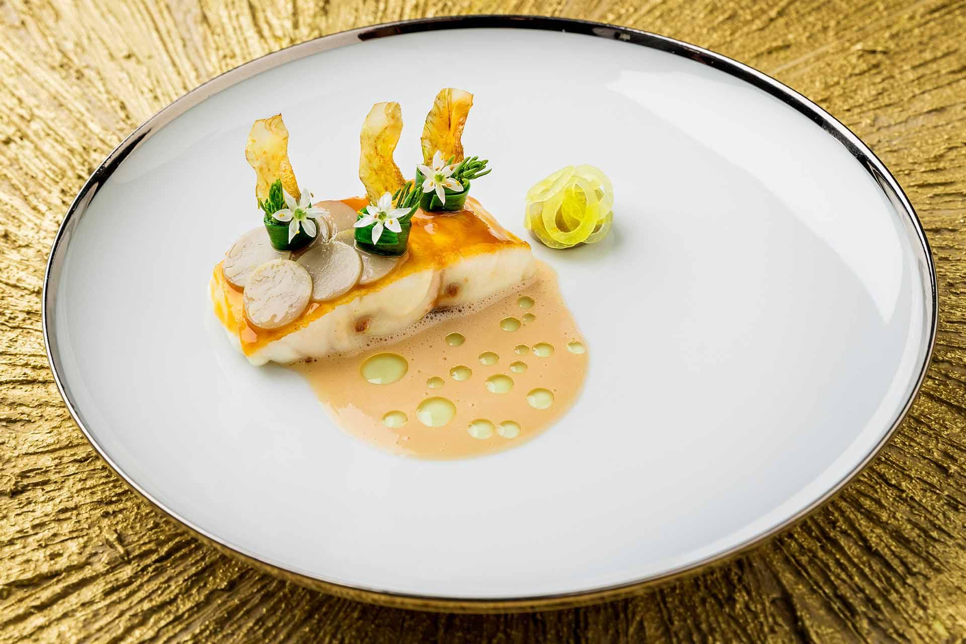Dish: sea bass