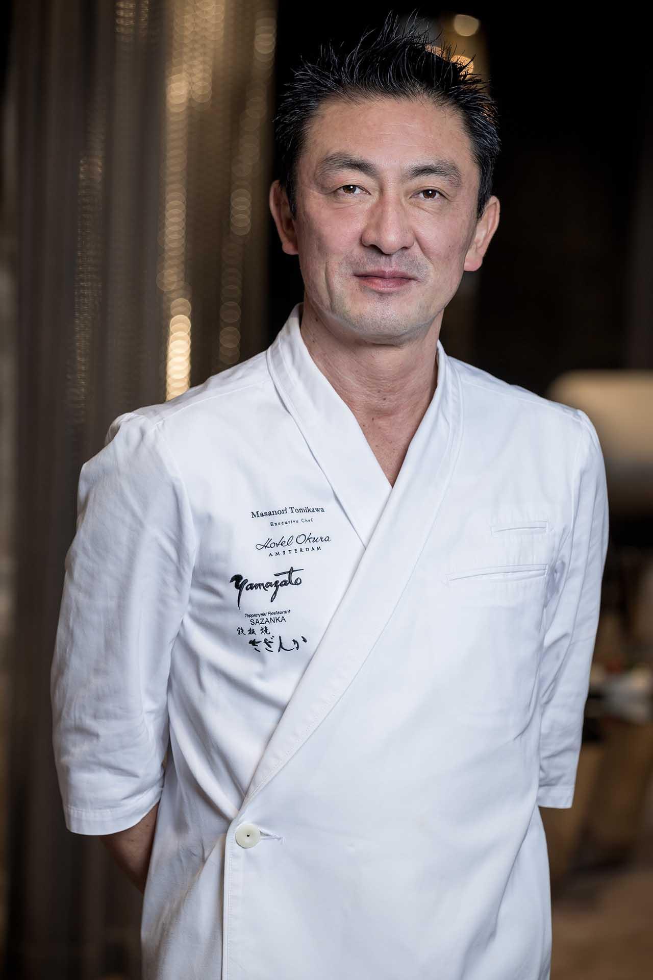 Executive Chef Masanori Tomikawa