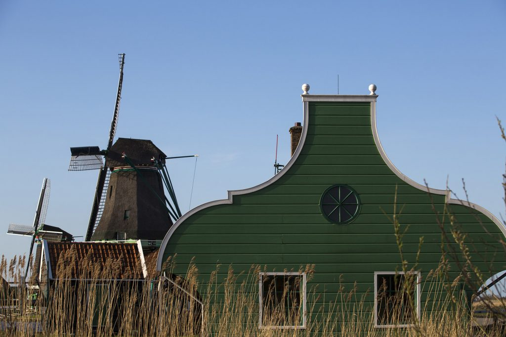 Het omliggende platteland van Amsterdam