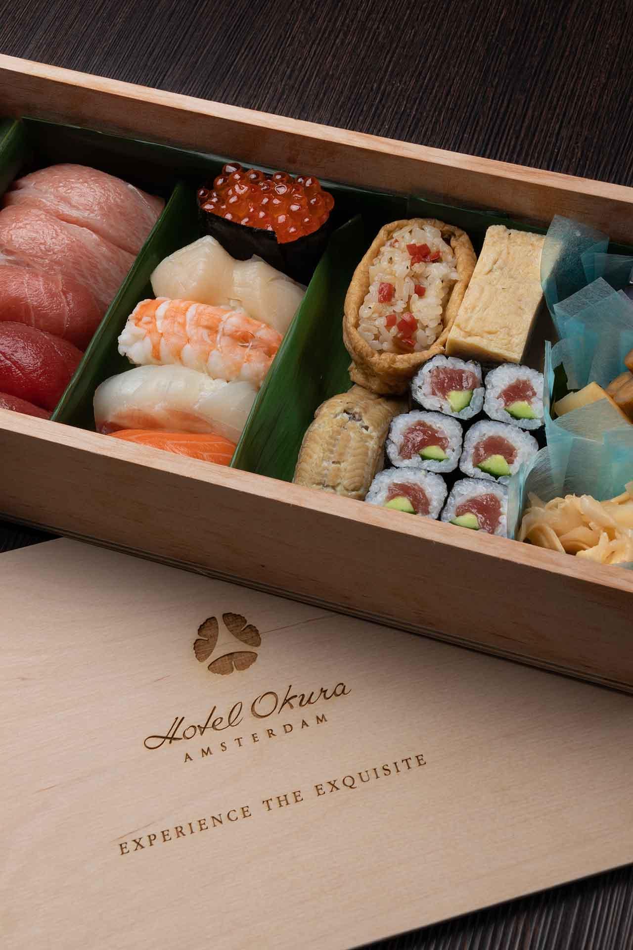 Sushi - Okura at Home